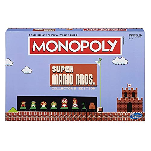 - Monopoly: Super Mario Bros Collector's Edition Board Game (Amazon Exclusive)