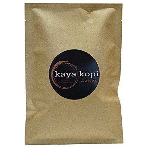 Premium Kopi Luwak From Indonesia Wild Palm Civets Arabica Light Roast Coffee Beans (10 -