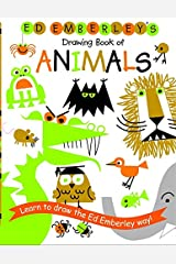 Ed Emberley's Drawing Book of Animals (Ed Emberley Drawing Books) Paperback
