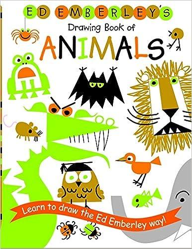 animals ed emberleys of drawing book