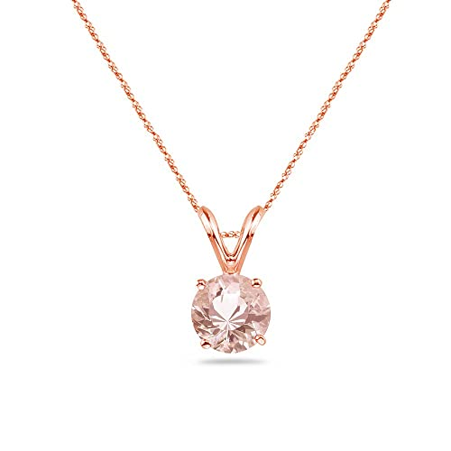 c6843cec60a24 Amazon.com: 2.80-3.60 cts of 10 mm AAA Quality Round Morganite ...