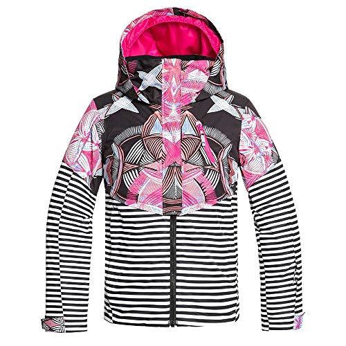 Roxy Snow Big Frozen Flow Girl Jacket, True Black Active Base, 16/XXL