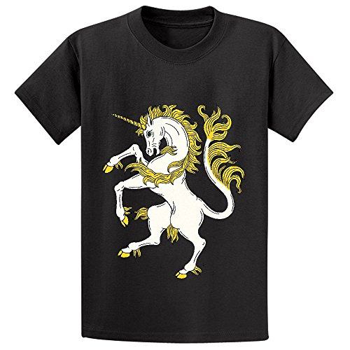mcol-unicorn-rampant-youth-crew-neck-short-sleeve-tee-black