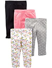 Baby Girls' 4-Pack Pant
