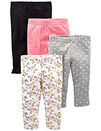 Simple Joys by Carter's baby-girls 4-Pack Pant Pants