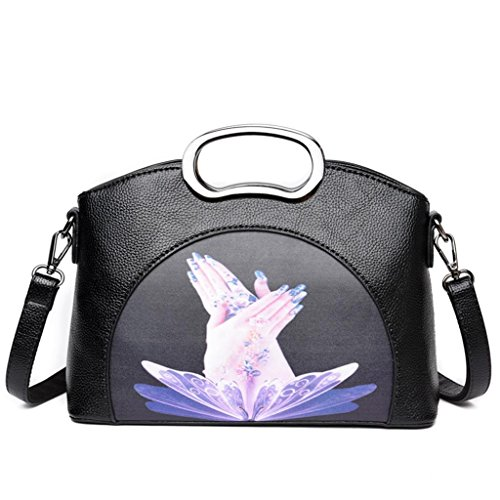 fingers semplice butterfly con Shopping della butterfly spalla Atmosphere Borsa Bag Fashion fingers singola ragazza la Personality Messenger NVBAO ORTH6qH