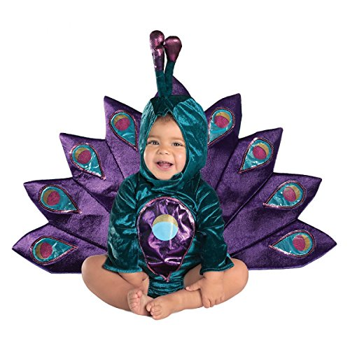 Baby Deluxe Peacock Costume Size 12-18