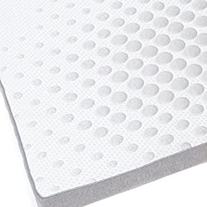 "Milliard 2-Inch Gel Memory Foam Mattress Topper - Featuring a Removable and Washable Soft Bamboo Cover - Queen - 78""x58""x2"""