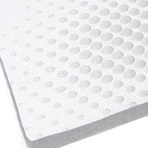 """Milliard 2-Inch Gel Memory Foam Mattress Topper - Featuring a Removable and Washable Soft Bamboo Cover - King - 78''x74''x2"""" by Milliard (Image #2)"""