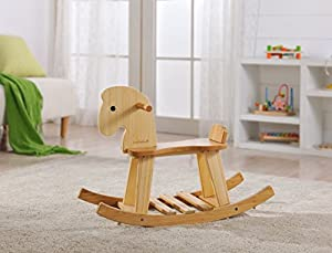 EverEarth Bamboo Rocking Horse EE33559