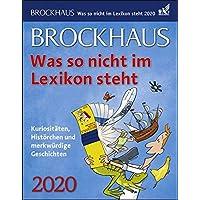 Brockhaus Was so nicht im Lexikon steht 2020 12,5x16cm