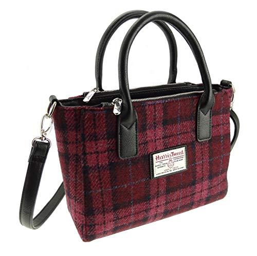 Harris Tweed pour femmes, 100% petit sac Brora avec bandoulière Lb1228 Col 90