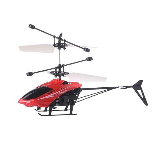 LDFANG Mini Helicóptero De Inducción De Vuelo, Drone De Vuelo De ...