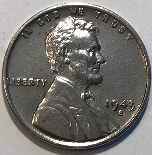 1943 Lincoln Wheat Cent S Penny Brilliant Uncirculated