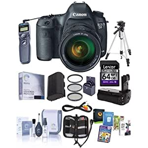 Canon EOS-5D Mark III DSLR Camera Bundle. USA. Value Kit with Accessories