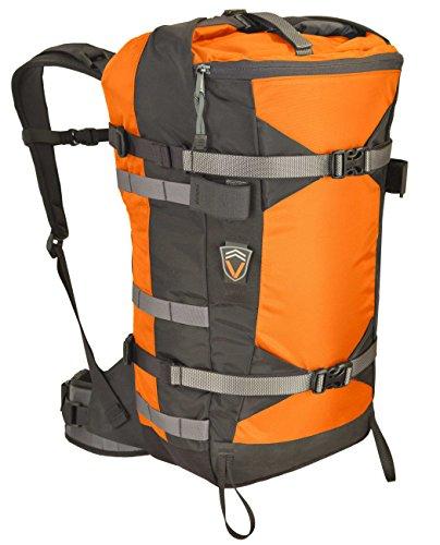 VenTerra Men's Crunchy 35 Snowboard Backpack, Orange, Large