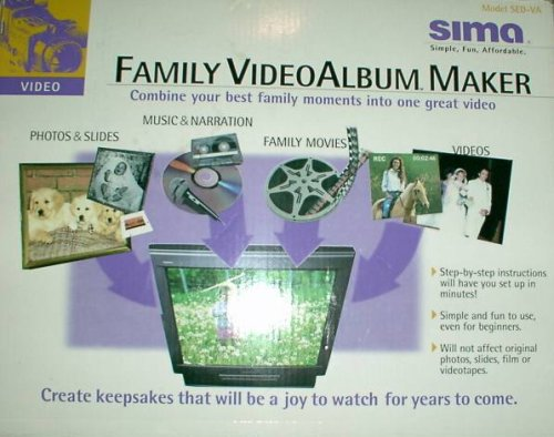 Sima SED-VA Family Video Album Maker Sima Video Mixer