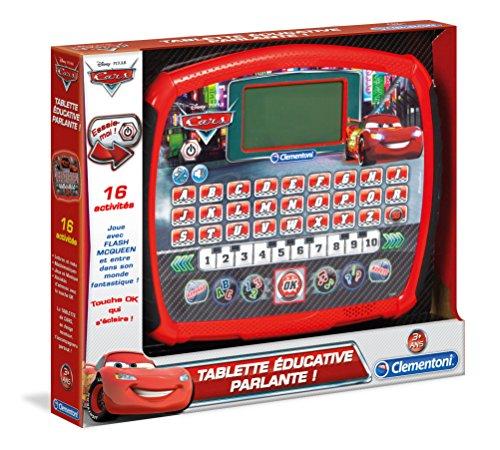Clementoni - 52041-Tablette éducative Cars-COMPUTER-KID