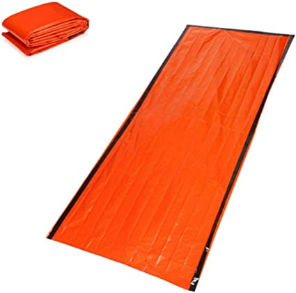 NEW Outdoor First-Aid Survival Emergency Tent Blanket Sleep Bag Camping Shelter
