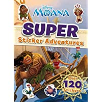 Disney Moana: Super Sticker Adventures