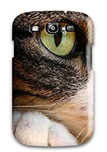 Galaxy Case - Tpu Case Protective For Galaxy S3- Cat Eyes