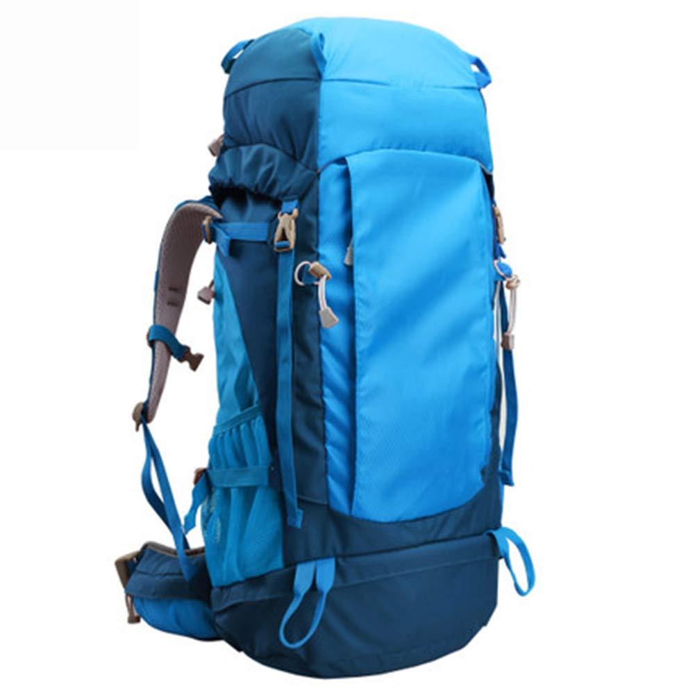 品質が 50Lアウトドアスポーツハイキングバックパック、 ポリエステル生地、 B07QXKJP5S ロッククライミング/旅行 男性と女性,Green、 男性と女性,Green Blue B07QXKJP5S Blue Blue, オートショップケイズ:6e28322f --- arianechie.dominiotemporario.com