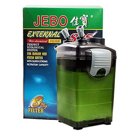 JEBO Jiabao 825/829 barril filtro externo 22W filtro del tanque de peces de acuario