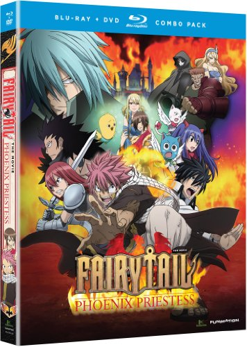 Fairy Tail - Movie: Phoenix Priestess (Blu-ray/DVD Combo) by FUNimation