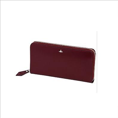845d2299322d Amazon   ヴィヴィアンウエストウッド Vivienne Westwood 財布 長財布 SIMPLE TINY ORB ラウンドファスナー  長札入 (パープル)   財布