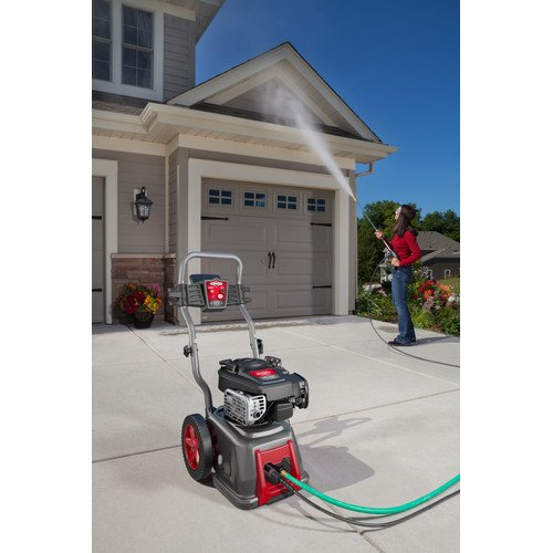 Briggs & Stratton 20593 2.3-GPM 2800-PSI Gas Pressure Washer with 850-Professional Series 190cc Engine, Full Steel Frame and ReadyStart Technology