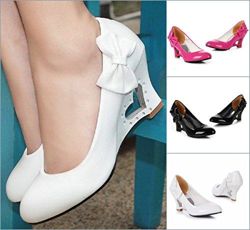 Para Mujer Rosa Sintético Material De Unbekannt Zapatos Vestir qRBzzv