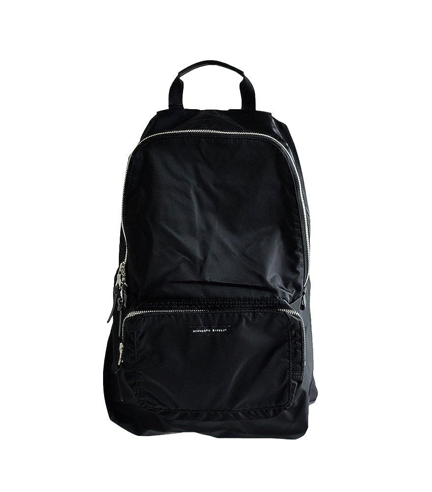 [スタンダードサプライ]STANDARD SUPPLY WEEKENDER リュックサック PACKABLE DAYPACK B019MA3P46 ブラック One Size