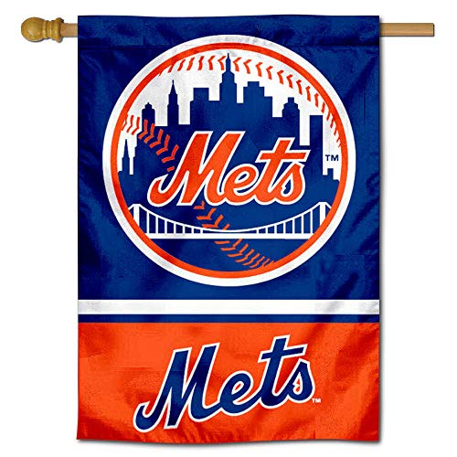 WinCraft New York Mets Double Sided House Flag