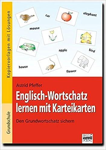 Grundwortschatz Englisch. Karteikarten