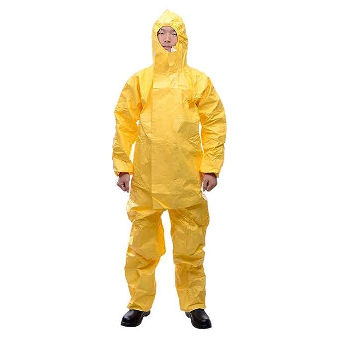 Ropa de protección química con capucha a prueba de polvo ...