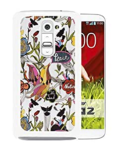 Sakroots 20 White LG G2 Screen Phone Case Nice and Unique Design