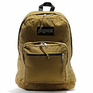 "JanSport Right Pack Expressions Backpack - Barley Brown - 18""H x 13""W x 8.5""D"