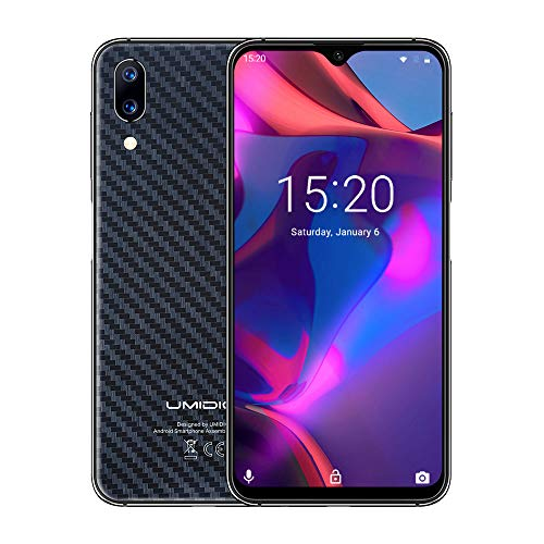 Unlocked Wireless Cell Phone - UMIDIGI One Max Factory Unlocked Smartphone, 4GB/128GB, 4150mAh Big Battery, 6.3