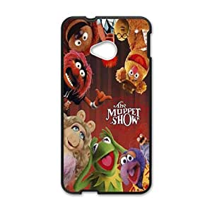 Printed Quotes Phone Case MUPPETS KERMIT PIGGY For HTC One M7 Q5A2112261