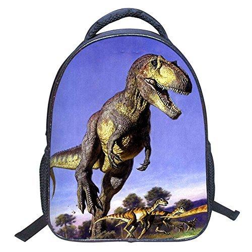 Baby Toddler Kids Child 3D Animals Cool Dinosaur Print Canvas Backpack Schoolbag Shoulder Bag for Kindergarten [並行輸入品]   B078WVTMS3