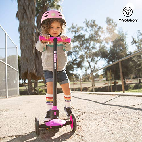 Yvolution Y Glider Deluxe Three Wheel Scooter For Kids With Safety Brake For Children Ages 3 Years And Up