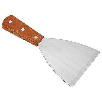 Espátula triangular fuerte para plancha de cocina, Espátula ...