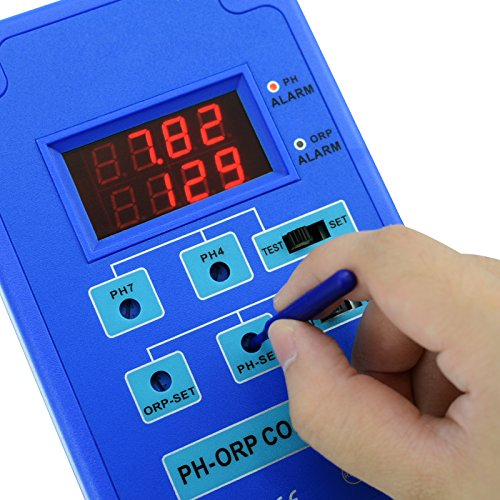 Digital pH ORP 2 in 1 Controller with Separate Relays for pH and ORP by Gain Express (Image #7)