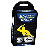 beer balls for sale - Franklin Sports 1 Star Table Tennis Balls-Pack of 6 (White, 40-mm)