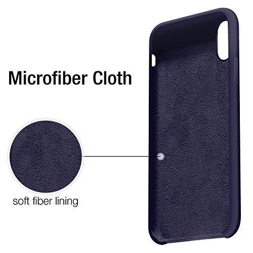 Ultra Pouces Dark iPhone Silicone Rayures 8 TPU X 5 Coque Bonbon Drapant pour Rubber de X 10 Souple Couleurs Fine Bumper Anti Bleu JEPER iPhone Etui Anti Cases Apple CFwYpxqY