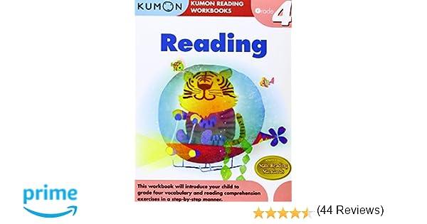 Grade 4 Reading (Kumon Reading Workbooks): Kumon Publishing ...