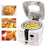 Homdox DF-7 Electric Deep Fryer With Cool-touch, 8 cup Oil...