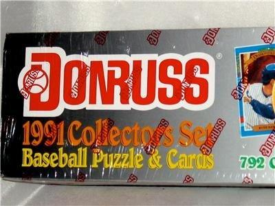 [1991 Donruss MLB Baseball Cards Complete Factory Set (792 cards)] (1991 Donruss Baseball)