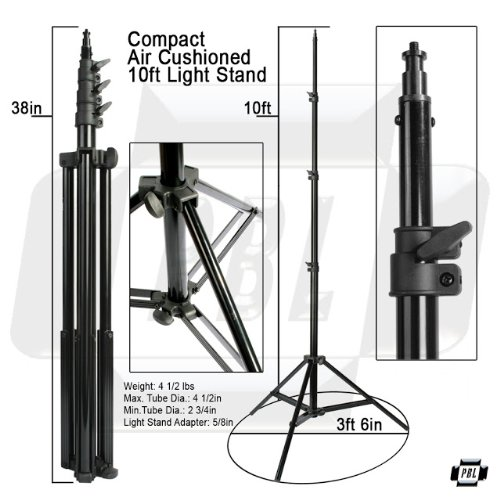 photo studio steel lighting light stand magic. Amazon.com : PBL Pro Heavy Duty 10ft Light Stand, Air Cushioned, Photography Video, Photographic Lighting Camera \u0026 Photo Studio Steel Stand Magic