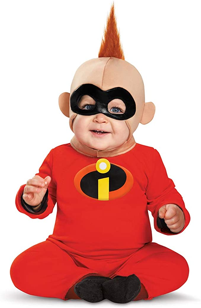 The Incredibles: bebé Jack Jack Deluxe – Niños Disfraz: Amazon.es ...